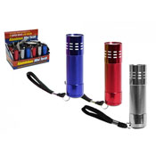9 LED Aluminium Mini Torch Super White