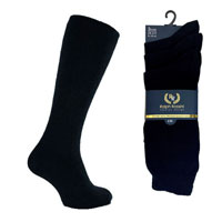 Mens 3 Pack Ralph Rossini Plain Socks