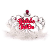 Hen Party Bride To Be Tiara With Fur