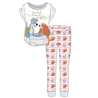 Ladies Official Lady And The Tramp Spaghetti Pyjamas