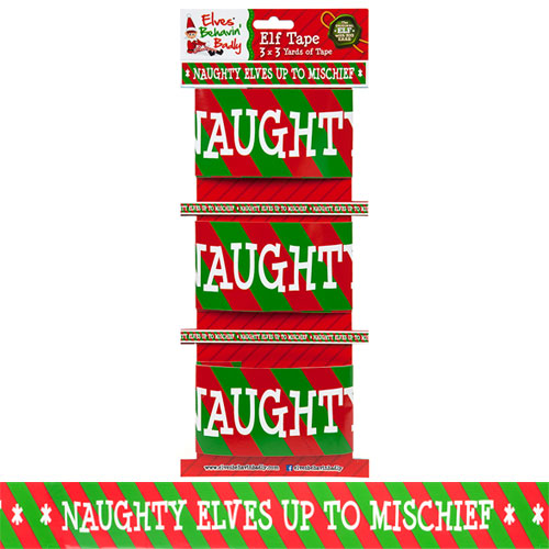 Christmas Elf Design Printed Tape