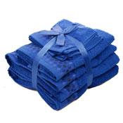 Luxury Egyptian Cotton Towel Bale Royal Blue