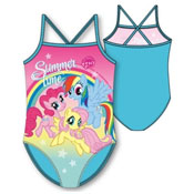Girls My Little Pony Swimming Costume