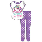Ladies Snow White Dwarfs Percent Pyjama Set