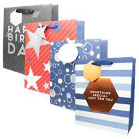 Mens Luxury Medium Gift Bag