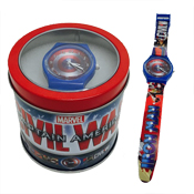 Children's Watch in a Box Captain America