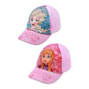 Official Childrens Disney Frozen Sequin Baseball Cap