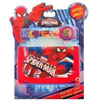 Spiderman Digital Watch & Wallet Set