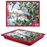 Christmas Robin Lap Tray