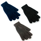 Mens Thermal Wool Magic Gloves