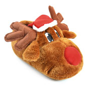 Adult Christmas Rudolph Slipper