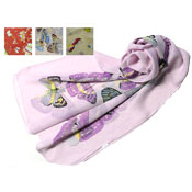 Large Butterfly Print Scarves