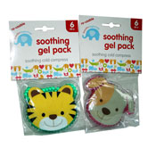 Animal Face Soothing Gel Pack