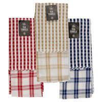 Terry And Waffle Tea Towel 2 Pack