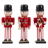 6 Inch Band Nutcracker Christmas Decoration
