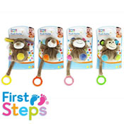 First Steps Baby Plush Rattle