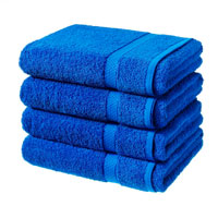 Luxury Cotton Bath Sheet Royal Blue