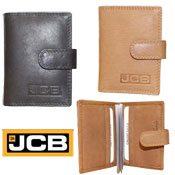 JCB Mens Leather Credit Card Wallet
