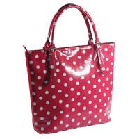 Eliza Rose Dotty Pink Tote Bag
