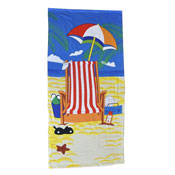 Deckchair Beach Towel Carton Price