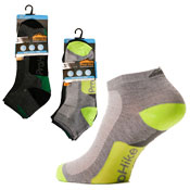 Mens Trainer Socks Assorted Colours