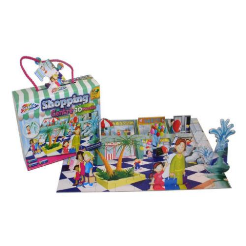 3D Shopping Centre Puzzle 45 Pieces