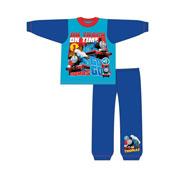 Boys Toddler Thomas On Time Snuggle Fit Pyjamas