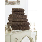 Supreme Cotton Bath Towels Cocoa