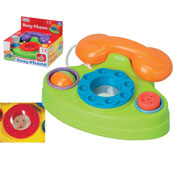 Fun Telephone With Activities & Sound
