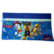 Paw Patrol One Team Flat Pencil Case