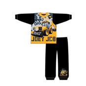 Boys Toddler JCB Pyjama