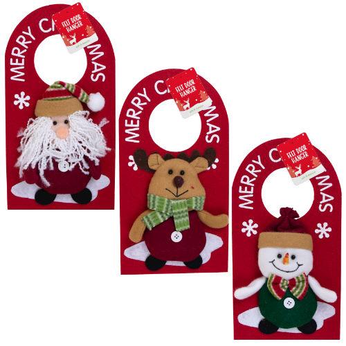 Christmas Felt 3D Door Hanger