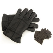RJM Mens Leather Gloves Thinsulate Lined