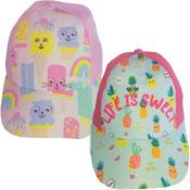 Childrens Ice Cream / Pineapple Design Baseball Cap