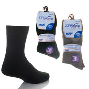 Eazy Grip Assorted Dark Socks