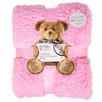Baby Sherpa Blanket Pink