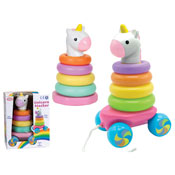 Rainbow Unicorn Stacker