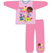 Girls Toddler Doctor McStuffins Snuggle Fit PJs