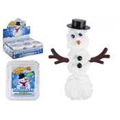 Christmas Snowman Foam Putty With Accessories