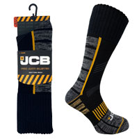JCB 1 Pair Mens Pro Anti-Blister Work Sock 9-12