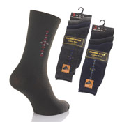 Mens Techno Socks Diamond Design