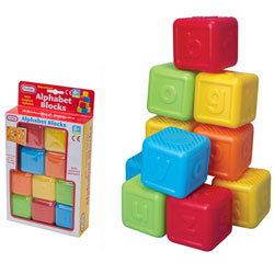 Educational Alphabet Blocks by Funtime