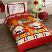 Childrens Christmas Bedding - Santas List