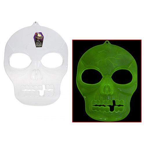Halloween Glow In The Dark Hanging Mask