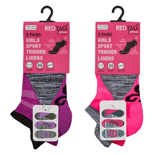 Girls Sport Trainer Socks