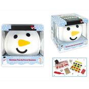 Christmas 'Pass the Parcel' Snowman