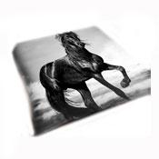 Stallion Faux Mink Fur Throw