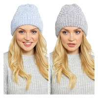 Ladies Chenille Textured Hat