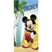Mickey Mouse Surf-Board Beach Towel