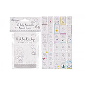 30 Baby Memorable Moments Cards